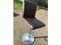 Brown leather look Kitchen Bar Stools x5 (RRP £80 each)