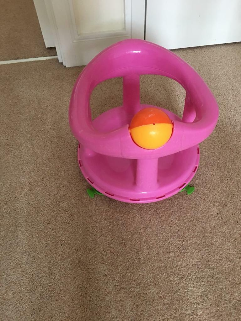 Funky Safety 1st Swivel Bath Seat Pink Illustration - Bathroom with ...