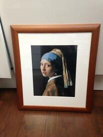 'Girl with the Pearl Earring' print.