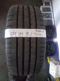 225 55 19 eagle f1 tyre