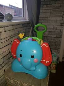 Fisher Price Ride On Elephant