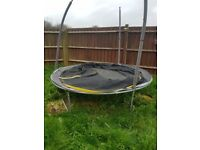 8ft Trampoline complete with the net