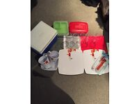 Joblot of picnic items and cool box