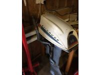 Evinrude 18hp outboard.