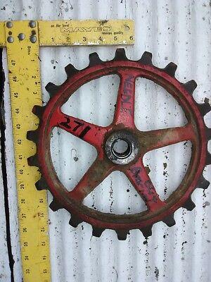 Nh 271 Wire Sq Baler Sprocket Gear Assy No Bearing