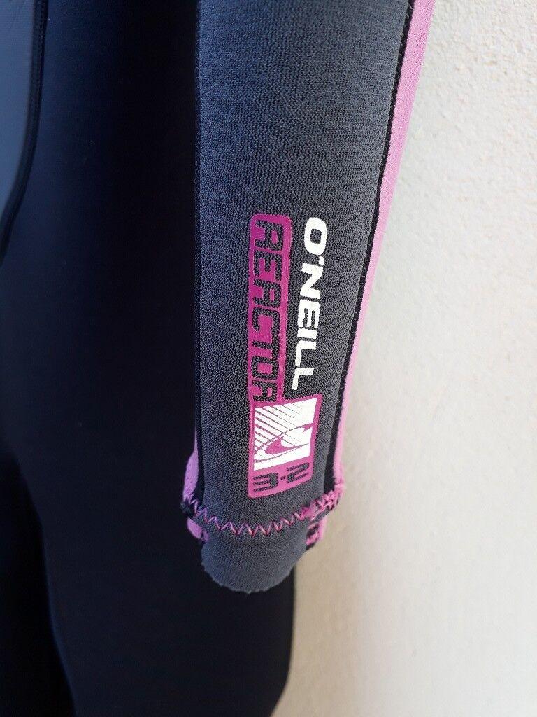 O'Neill Girls Reactor 3/2 Summer Wetsuit - Pink