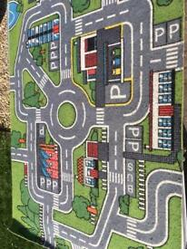 Toy road mat