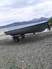 Fishing boat 15ft.