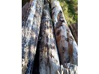 Wooden Sleepers/Beams (Reclaimed)