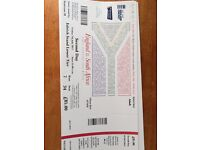 2 x tickets to Lords ENG vs S AFRICA Friday 7th July Day 2 *FACE VALUE £85 each*