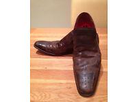Jeffery West Men's Brown 'Dashwood' Shoes (UK9.5)