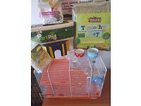Hamster full set up