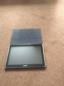 Samsung Galaxy Tab 2 10.1 With Case