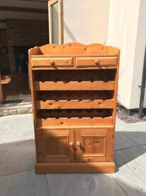 Solid wood wine cabinet / sideboard