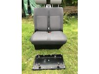 Vw T5 double seat and swivel base
