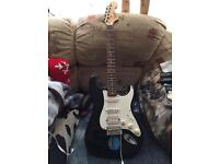 Squire strat fender and bag