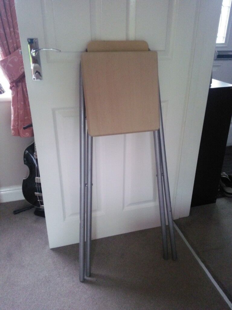 Wood Metal Fold Up Kitchen Stool In Sheffield South Yorkshire Gumtree