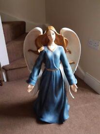 Christmas Blue Angel
