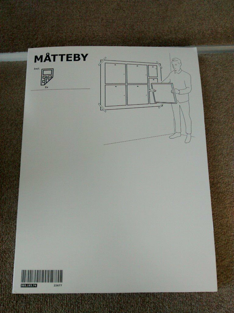 IKEA Matteby Wall template for hanging picture frame ...