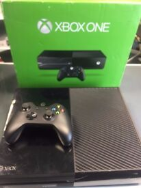 XBOX ONE - BLACK - 1 TB STORAGE - USED - CAN BE SWAPPED IN STORE WITH OLD GADGETS