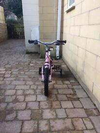 Pink ridgeway back honey 14 inch frame bike