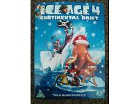 Ice Age 4 Continental Drift DVD