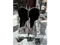 Mamas & Papas double stroller buggy