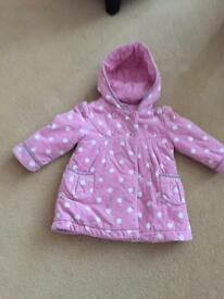 Monsoon coat 18-24 months