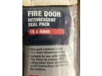 Wicked Fire door Intumescent seal Pack.
