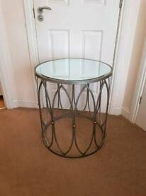 Fabulous Mirrored Silver Coffee Table Brand New