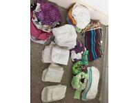 Bargain bundle of cloth nappies