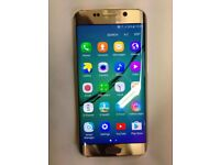 Samsung Galxy S6 Edge Gold For Sale 64 GB Unlocked