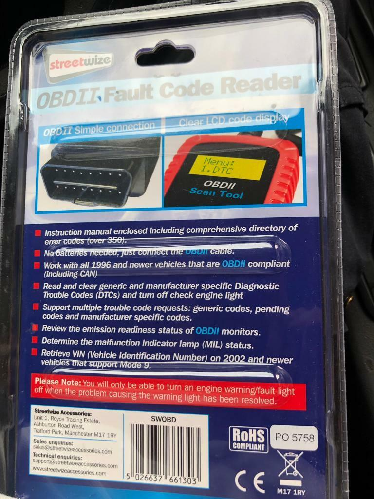 Universal Car fault code reader eraser diagnostic | in Coventry, West  Midlands | Gumtree