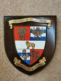 Heraldic Shield, Island of Tasmania