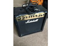 Marshall Amplifier Guitar Audio Amp Music Electric Lead