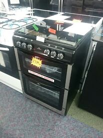 New World 601DFDOL Double Dual Fuel Cooker-Stainless Steel SBAR2927411050422