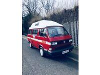 Vw Volkswagen camper motorhome t25 type 3 1990 classic