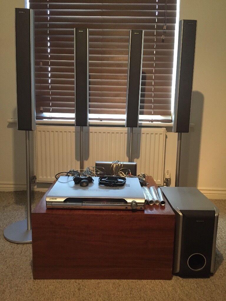 Sony Dav Dz410 Dolby 5 1 Surround Sound Dvd Home Cinema System  # Meuble Tv Sony Home Cinema