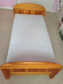 Kid's Bed with mattress.