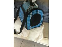 Burberry Style Pet Carrier