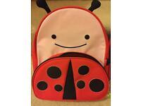 Skip Hop backpack and lunch bag