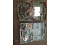 Makita grinder Bosch drill tools