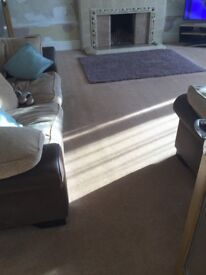 Carpet light beige 5m x 5.4m