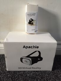 Apachie 3D virtual reality headset - brand new