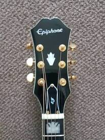 Epiphone EJ200ce black acoustic guitar