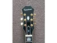 Epiphone EJ200ce black acoustic guitar