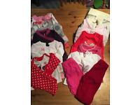 Bag of 0-3months girls clothes