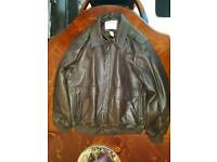 ORVIS Sporting Traditions Super Soft Leather Jacket - Large