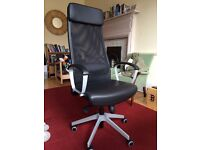 IKEA Markus Office Leather Chair - Excellent Condition (10yrs Warranty)