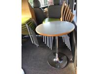 table and chairs restaurant cafe take away shop easy wipe clean clearance sale